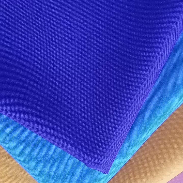 Hot Selling  230g/m 300D  100% polyester minimat,  300D For Table Cloth Poly Fabric Minimatt /