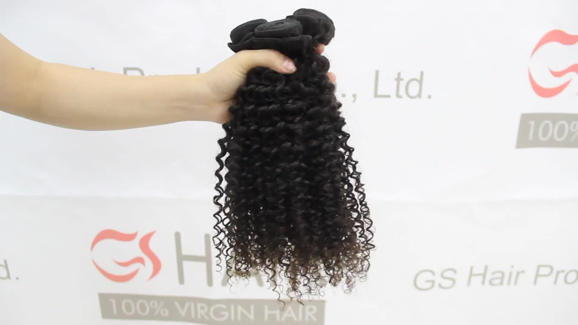 2019 Hot sale cuticle aligned Afro kinky curly hair extensions virgin brazilian hair vendor for black women