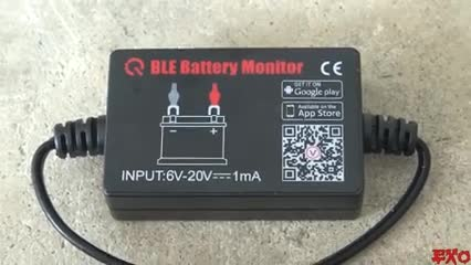 The Newest 12V Battery Monitor Bluetooth4.0 device- BM2