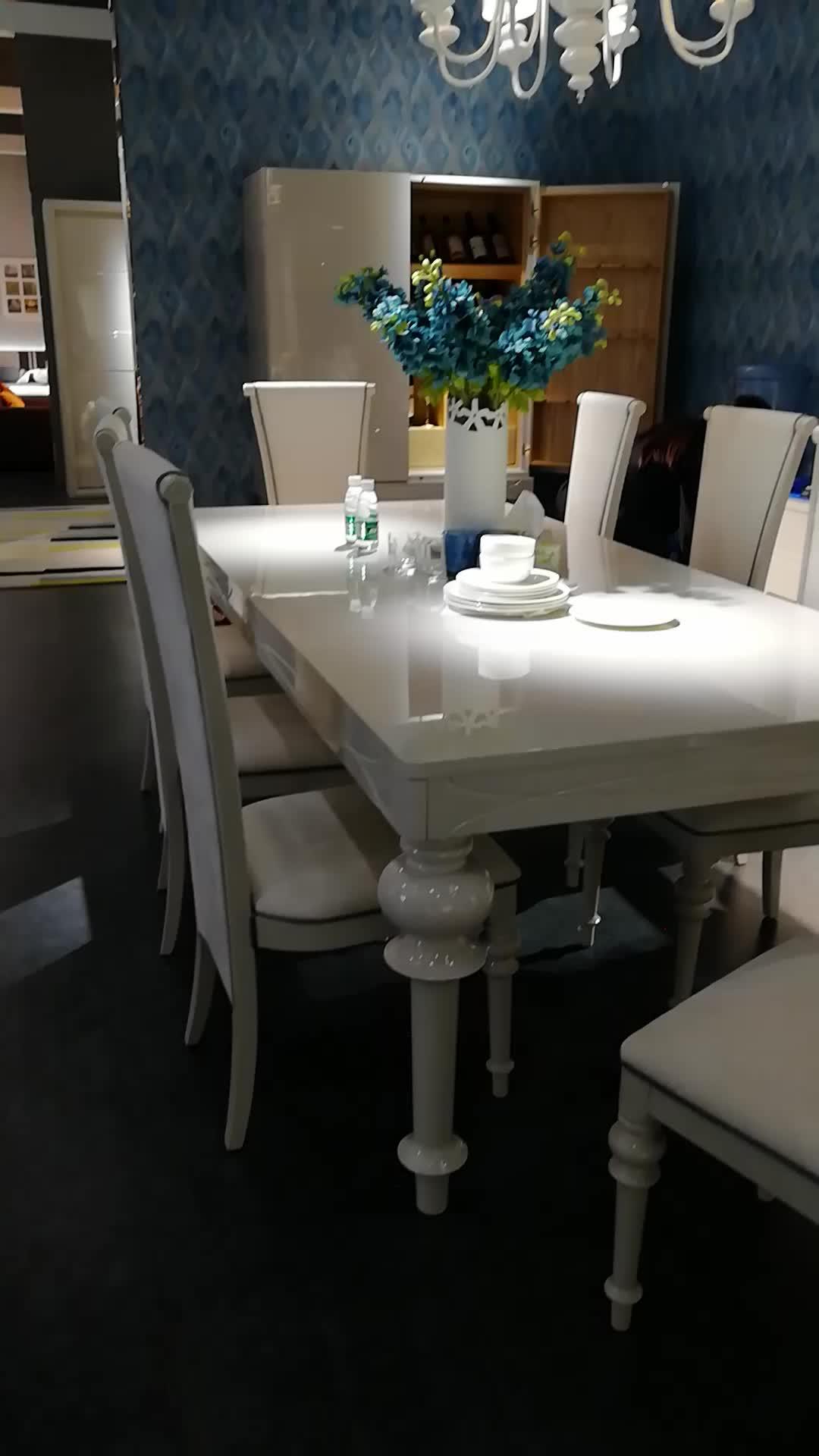 Современный обеденный стол набор деревянная/столовая мебель набор стола/современный домашний качественный обеденный стол