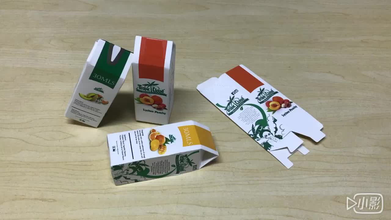 Custom made high quality aseptic orange juice liquid paper packaging box china manufacturer