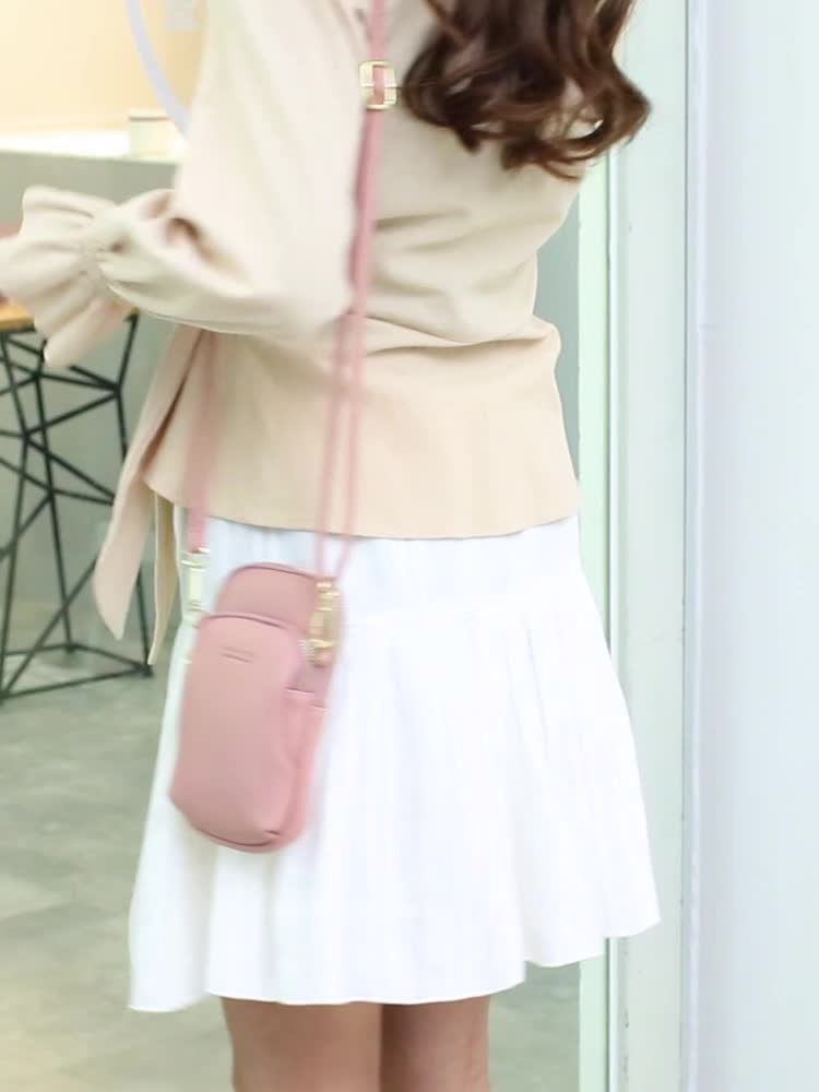MIYIN Lady's Mobile Bag The latest style of student's cute one-shoulder inclined fashion ins bag in 2020 Large Capacity handbag