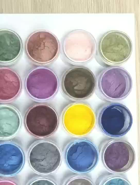 Private Label Cosmetics Mica Pearl Highlight Makeup Pigment Powder Single Loose Eyeshadow