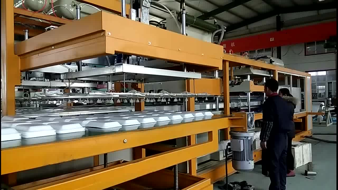 whole sell new condition ps foam food container machine