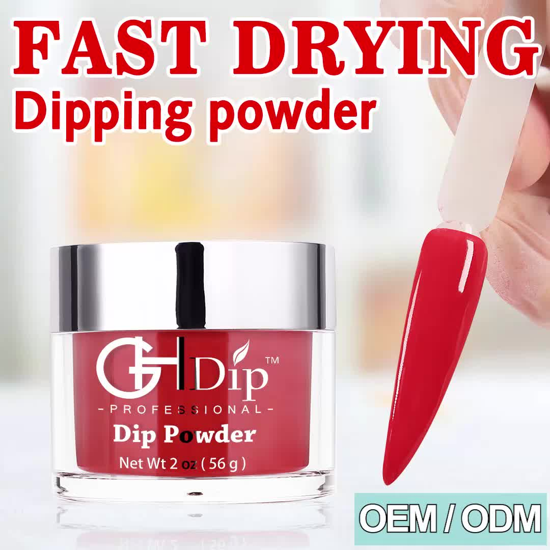 Custom private label Fast Drying dipping powder 3 in 1 set color match gel nail polish and lacquer