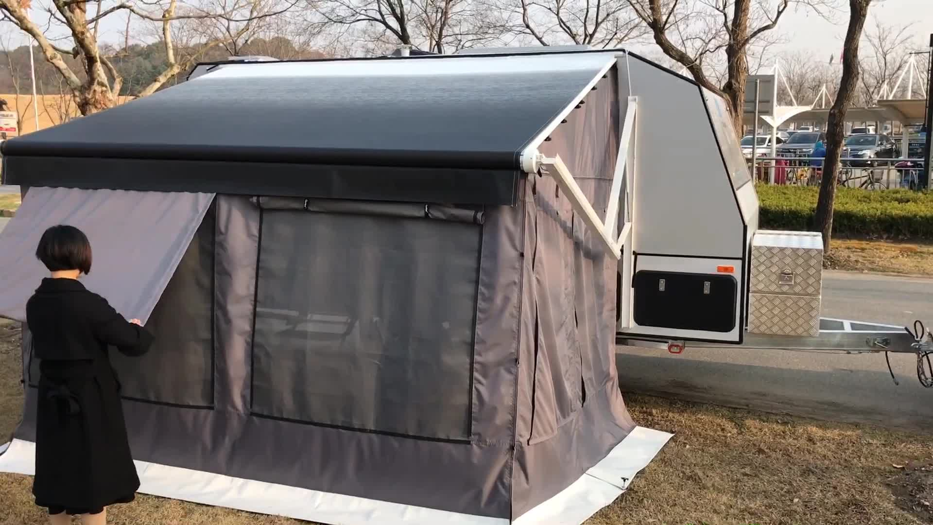 New Sunshade Rv Car Campers Caravan Awning Tent For Rv ...
