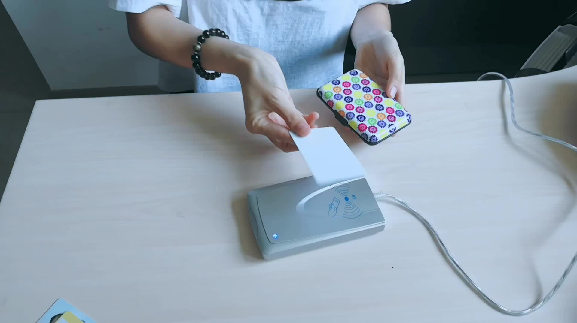 Travelsky Goedkope metalen rfid blocking credit kaarthouder aluminium portemonnee