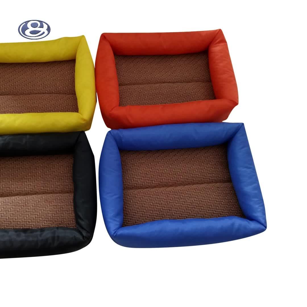 Fábrica diretamente dobrável de lã animal de estimação cama do cão ninho pet
