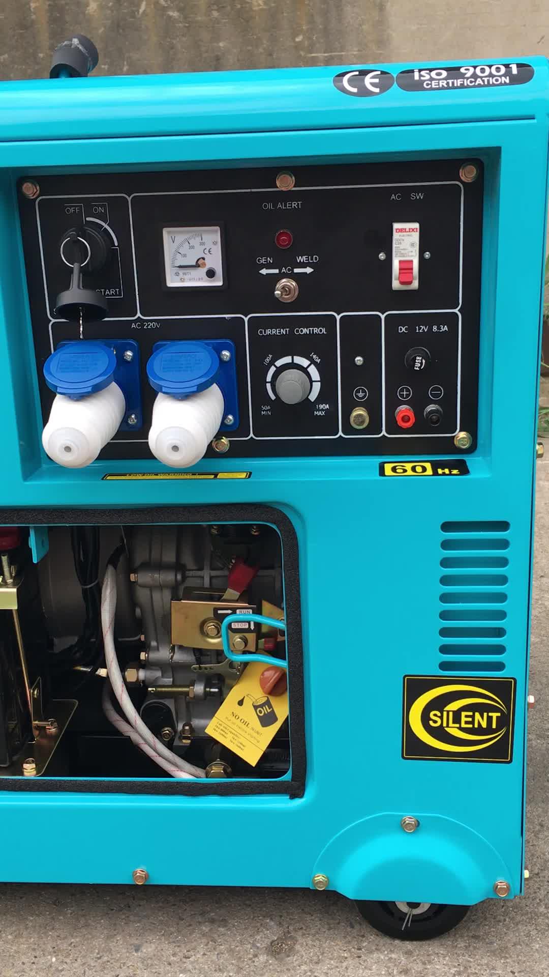 Top brand DY7500LN-A sun diesel generator