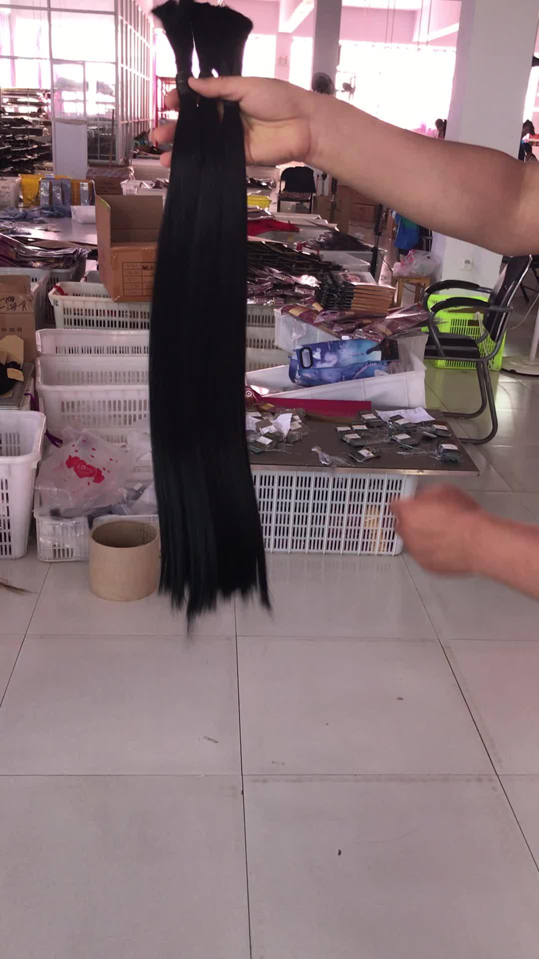 Virgin hair best vendors, full cuticle aligned free samples natural wave hair bundles single donor virgin hair