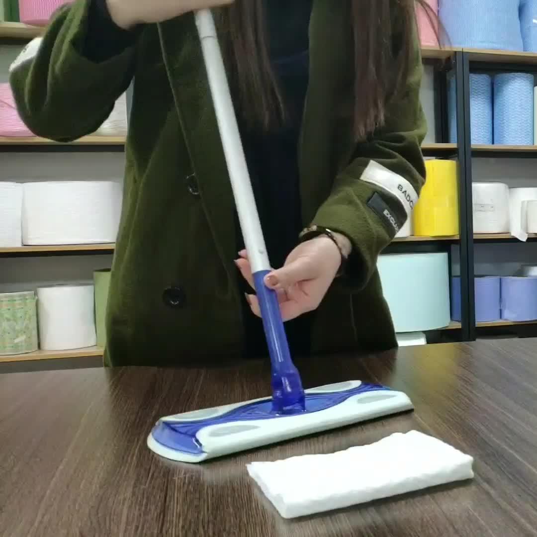 Desechables piso toallitas para hogar no tejida de vapor trapeadores reemplazar paño de limpieza trapeadores ropa