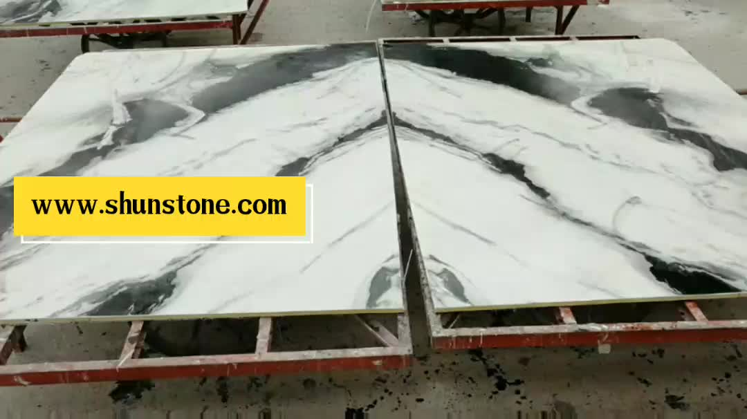 Nature white marble tiles Living room wall tile interior decoration marble slab price