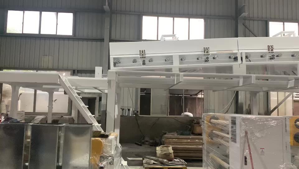 Automatic Grade paraffin wax coating machine