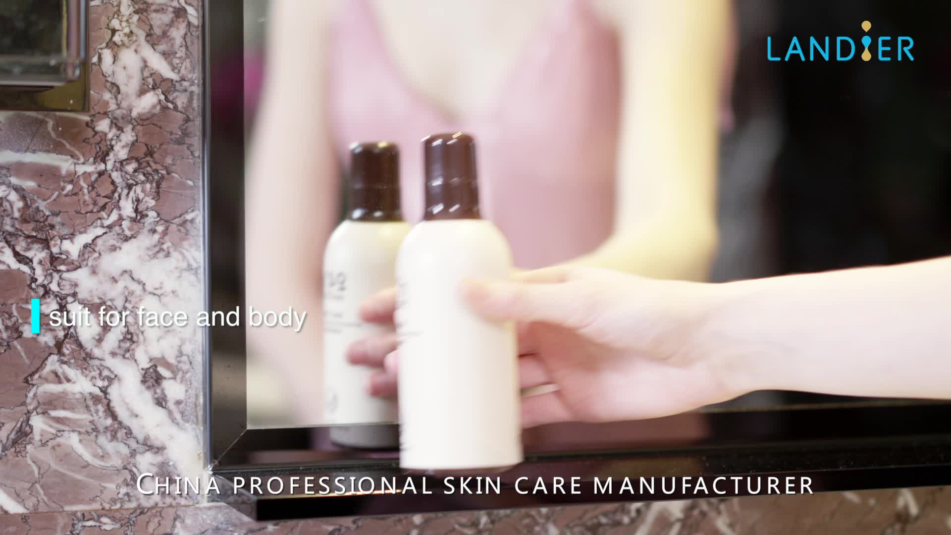Private label best whitening body lotion factory