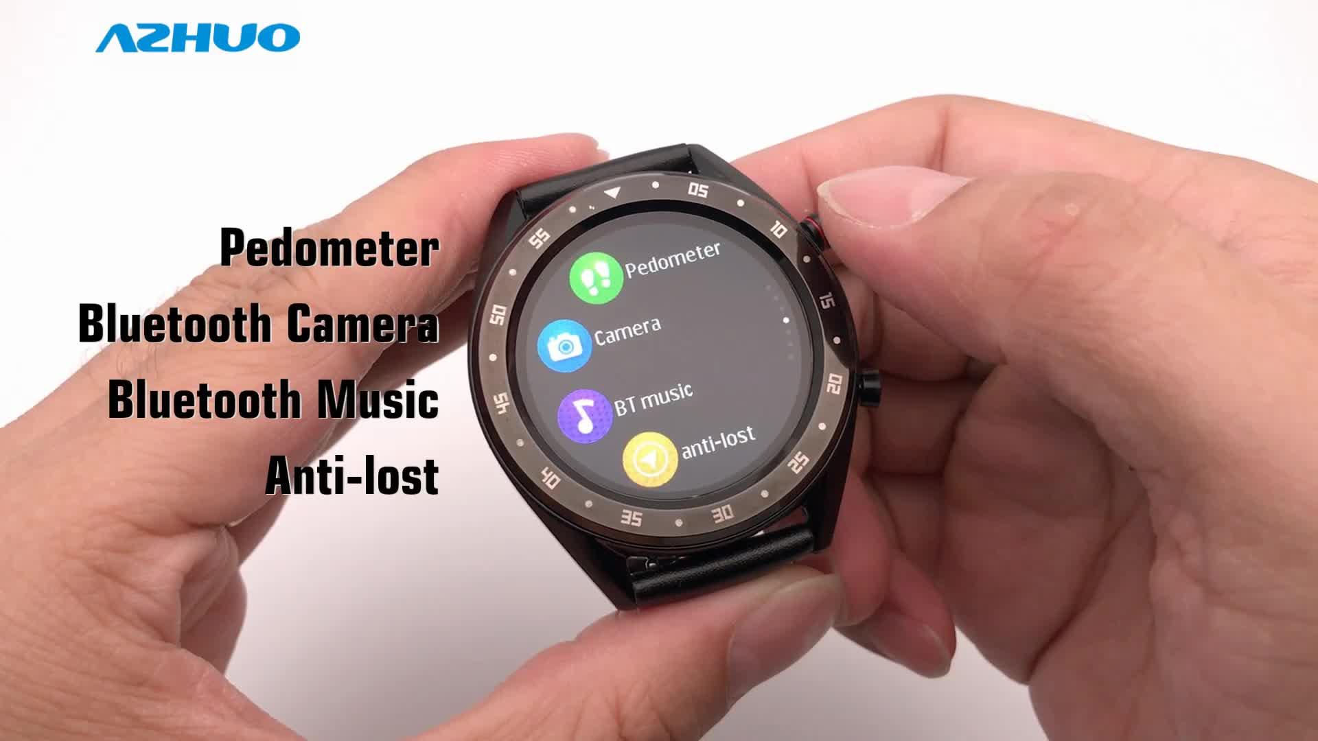 Microwear L7 Smart Watch IP68 Waterproof MTK2502 ECG Smart Watch with Heart Rate Blood Pressure Oxygen Fitness Tracker Watch