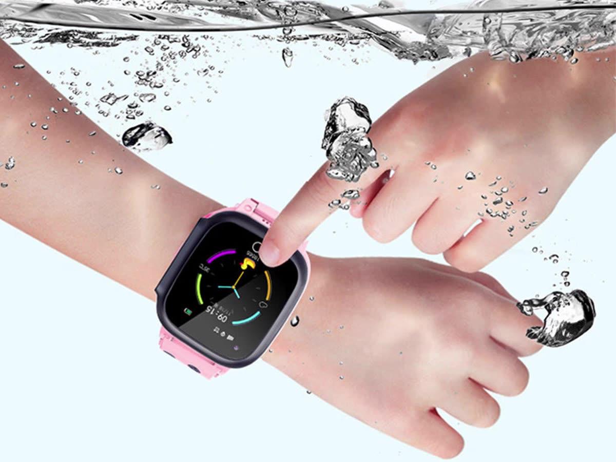 2020 نموذج جديد ساعة أطفال الهاتف مكالمة فيديو لمكافحة خسر واي فاي لتحديد المواقع المقتفي الصحة السلامة للماء 4G أطفال ساعة ذكية مع كاميرا