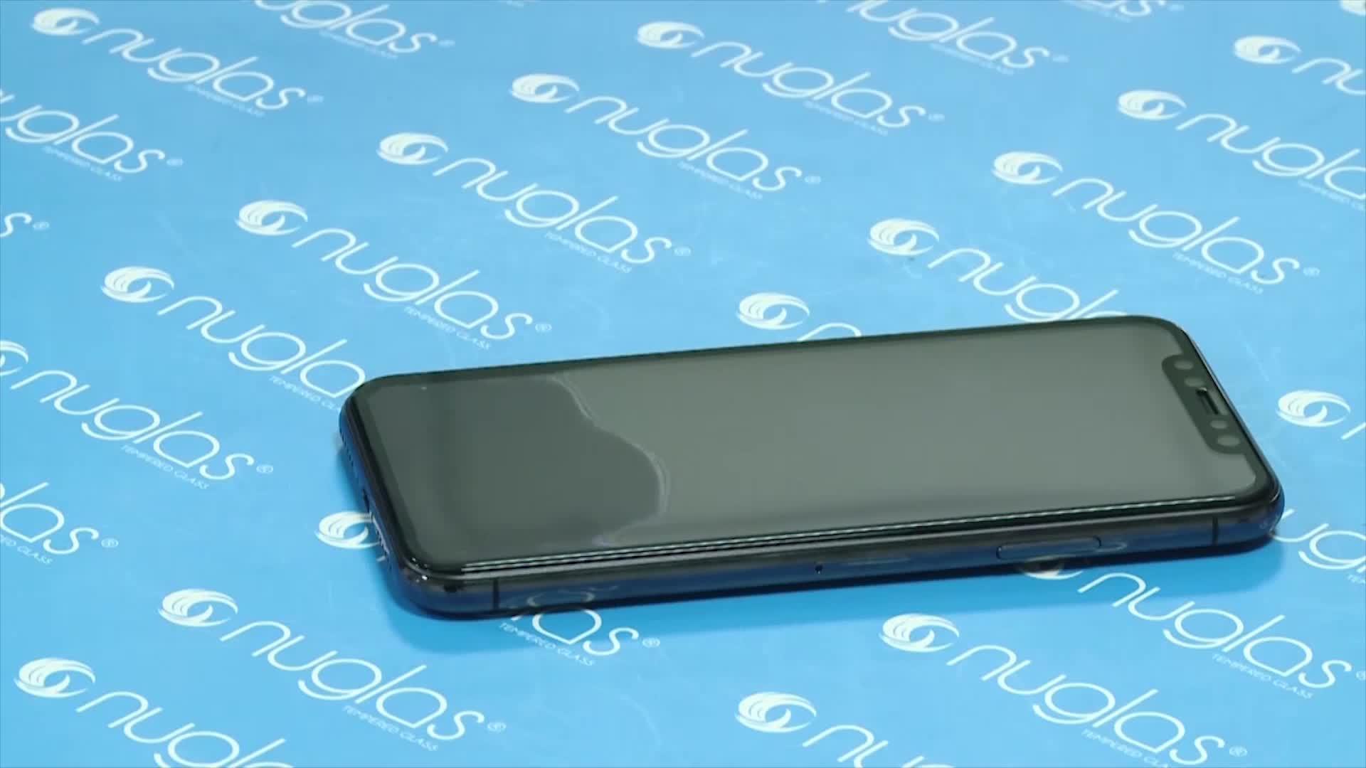 Nuglas 3D Đầy Đủ Bìa Tempered Kính Màn Hình Cho iPhone 11 Pro Max