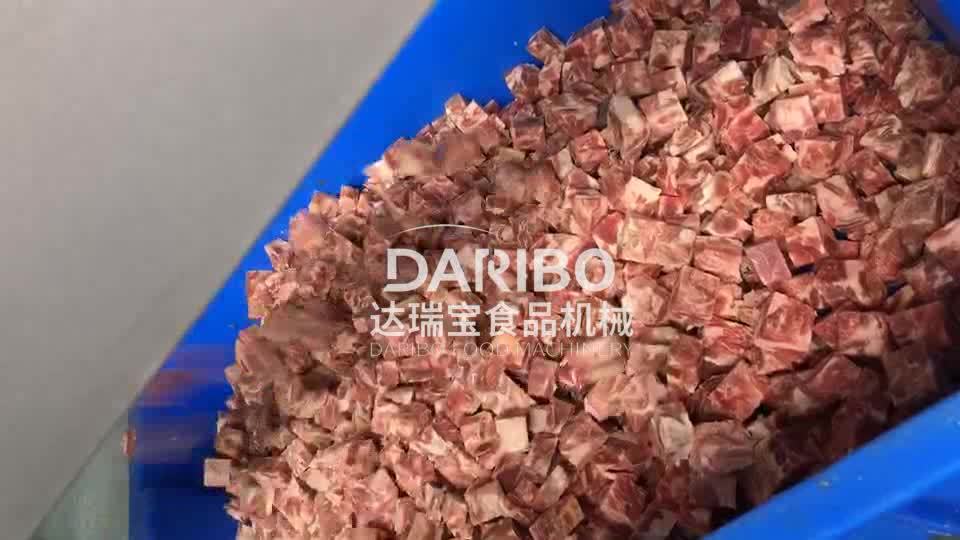 Meat Beef Slicing and Dicing Frozen Poultry Dice Cutting Machine