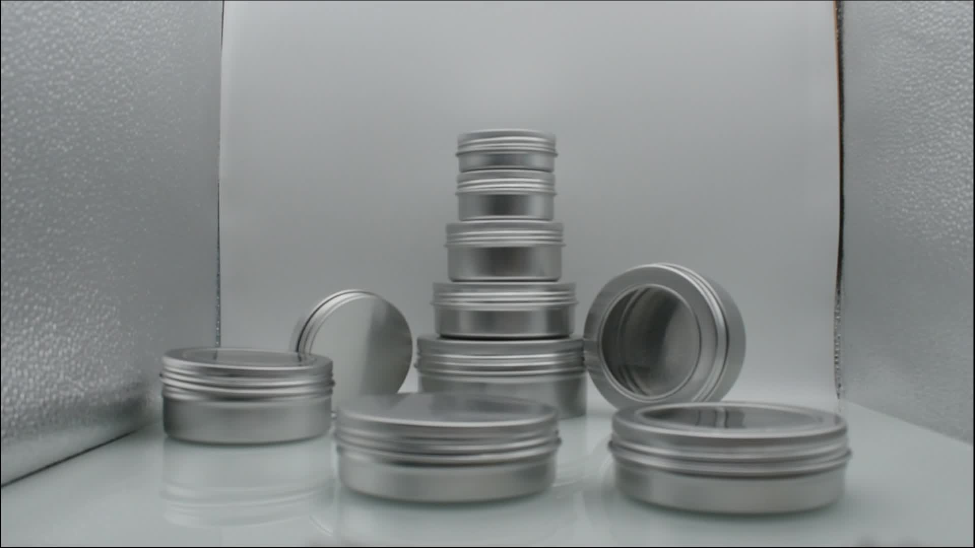 Mejor venta 150 ml tarro de aluminio tarro de caramelo fina 150 ml tarro de aluminio para cera de pelo