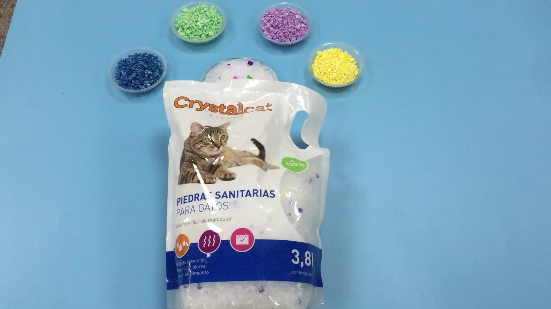 Bentonite Kitty Litter And Pet Cleaning 8l Cat Sand Litter