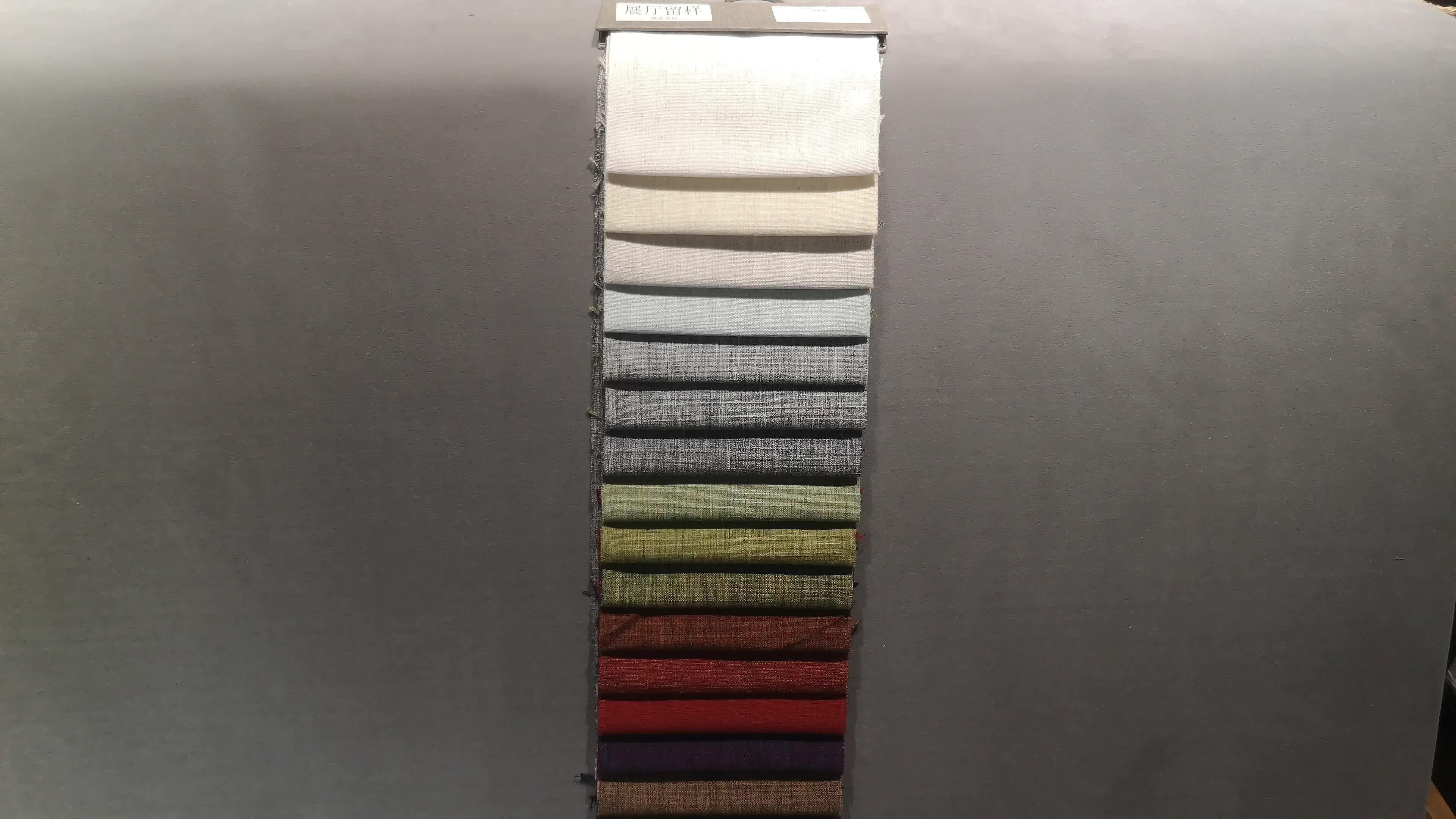 100% polyester linnen materiaal waterdicht Woninginrichting Stof