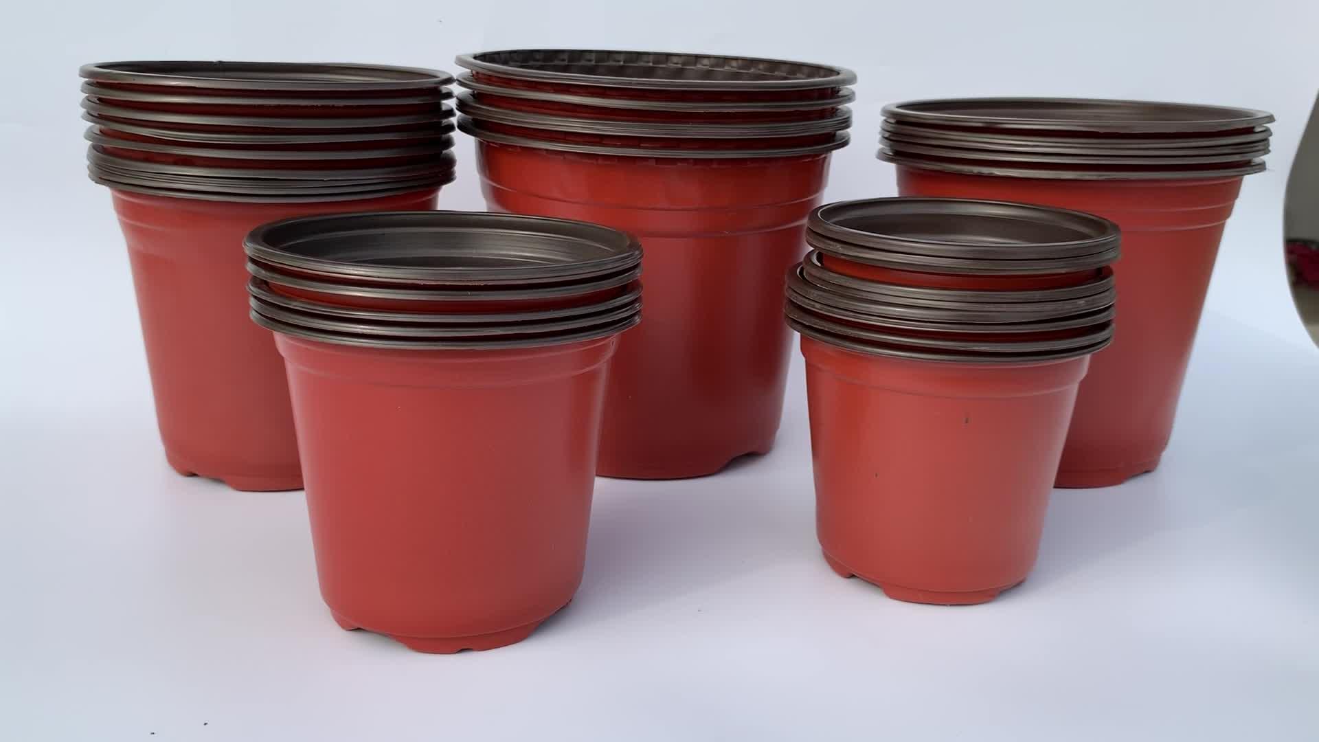 High quality PP plastic soft flower pot plastic nursery plant pot in Quality Assurance