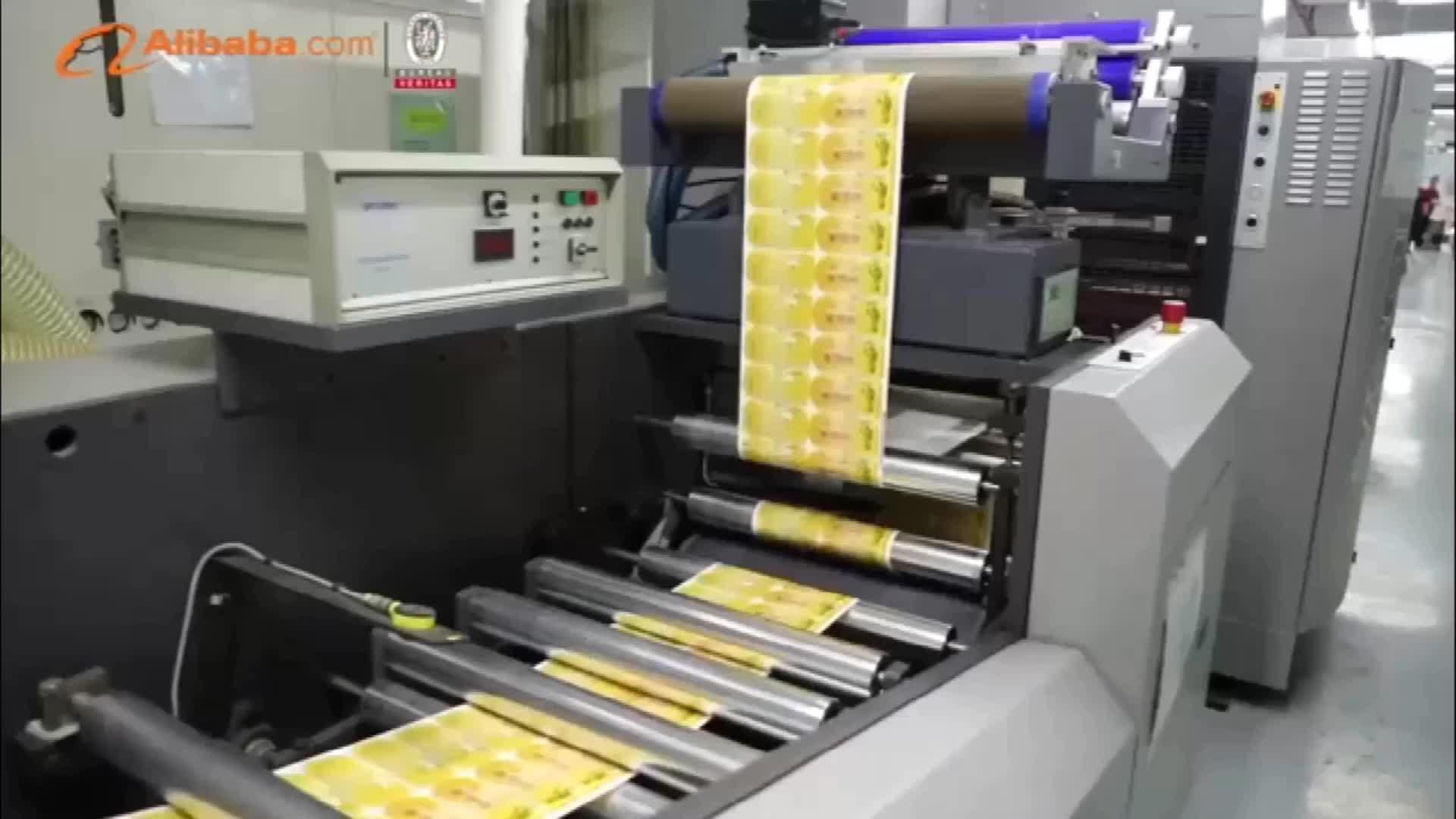 Venda quente cosméticos impresso etiqueta de papel máquina de rolo de vinil adesivo da etiqueta autocolante para o frasco de cosméticos