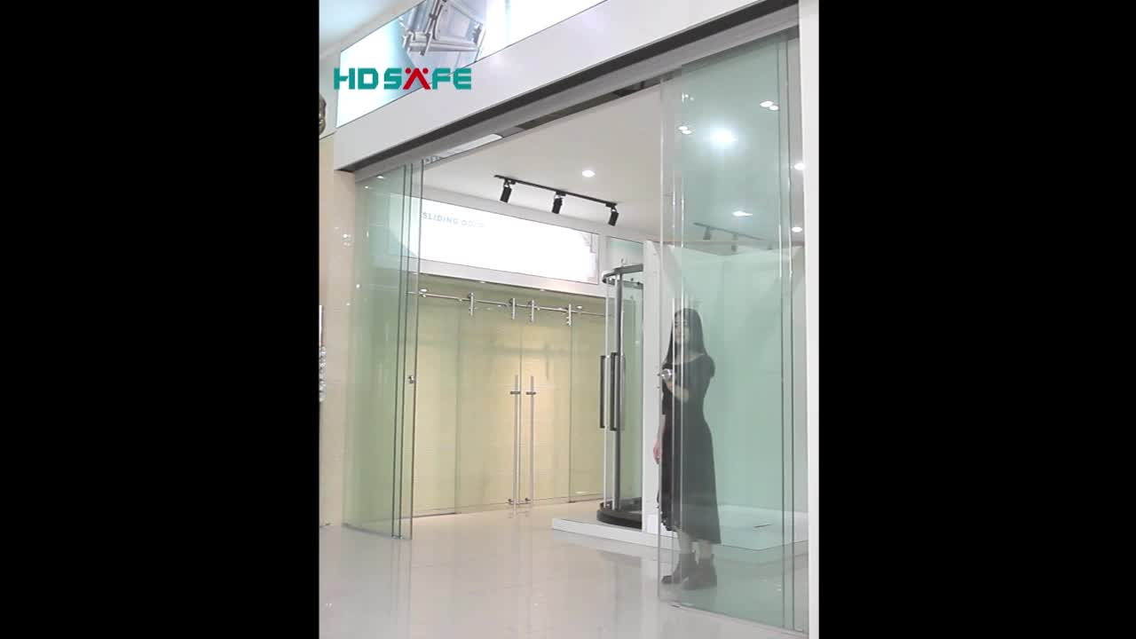 Glass Sliding Dooraluminum Interior Glass Large Door For Apartment