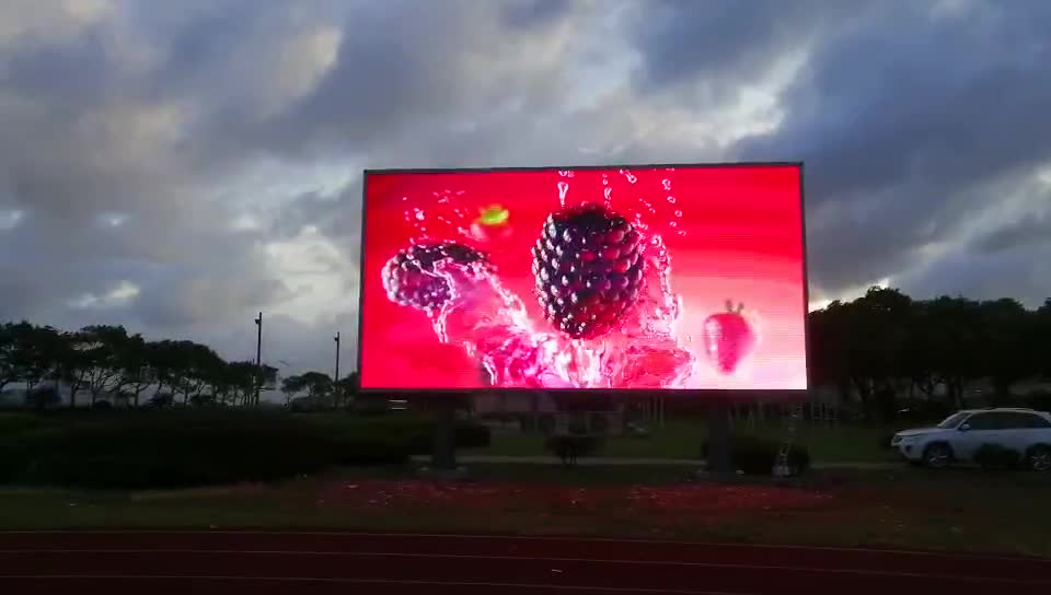 Outdoor-LED-billboard neue produkte video player P10 led display panel