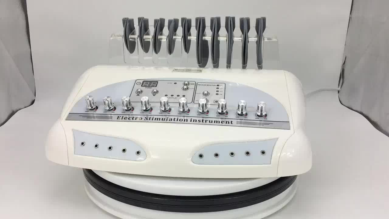 Au-6804 Electric Muscle Stimulation 10 Electrodes EMS Muscle Tightening Machine