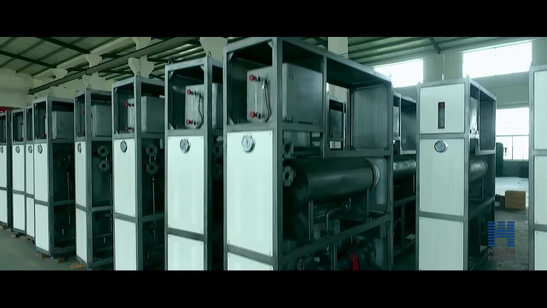 Industrie energiebesparende en explosieveilige elektrische verwarming thermische olie kachel