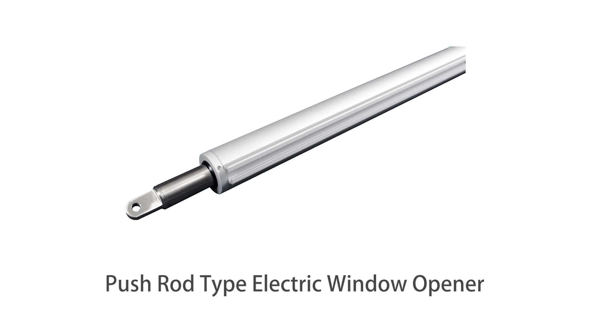 Motorized Roof Home Skylight Automatic Dc 24V Push Rod Type Electric Chain Automatic Window Opener