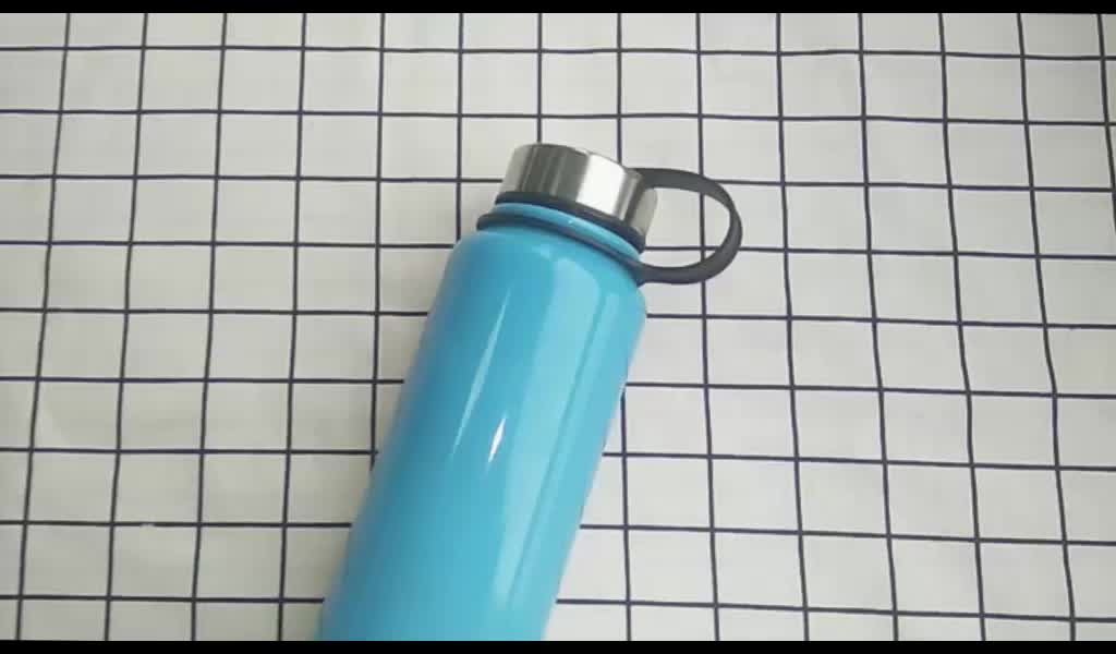 Large capacity stainless steel sport water bottle 1000 ml steel water bottle with filter