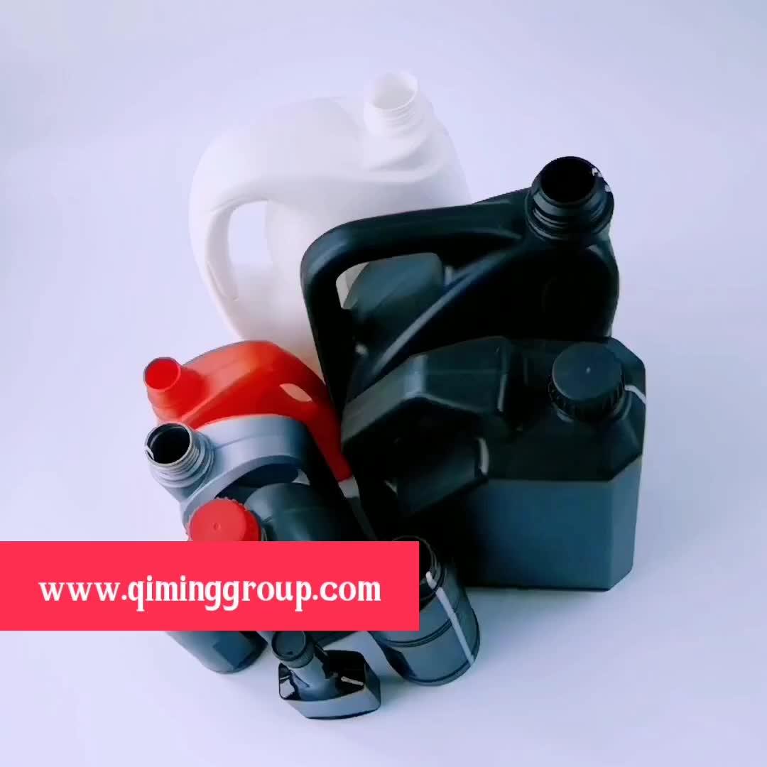 1 galón de plástico vacía Anti-oxidación refrigerante botella con tapa
