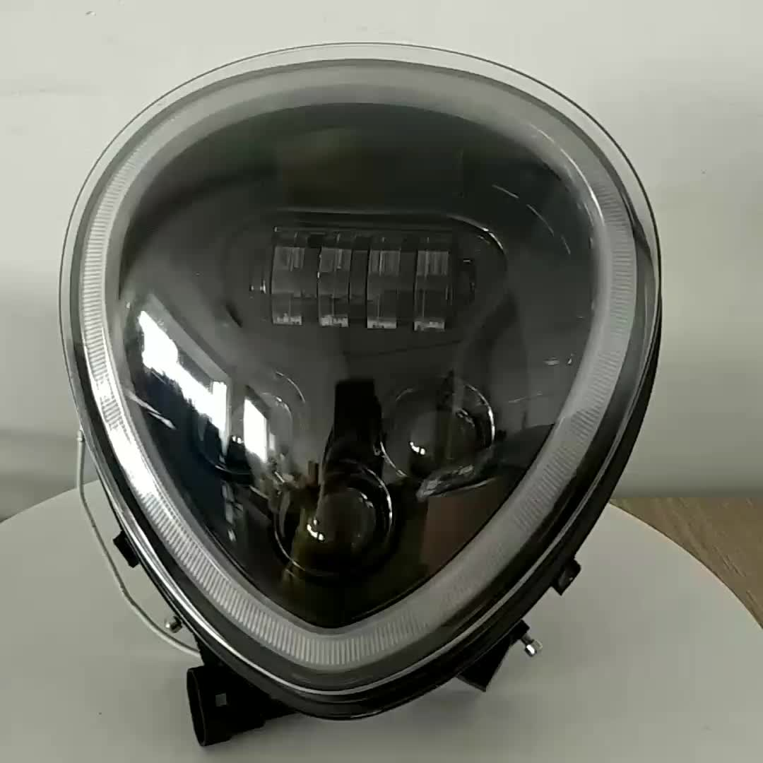 motorcycle LED Headlight  Fit For Y-amaha Stratoliner S/Deluxe XV1900 06-16