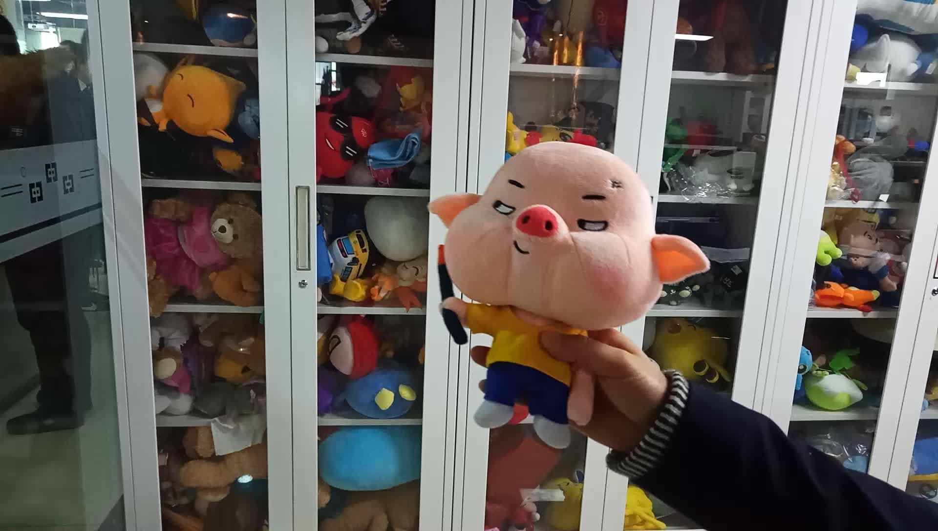 OEM Custom Made Mascot Soft Doll Enterprise Stuffed Animal Plush Toys