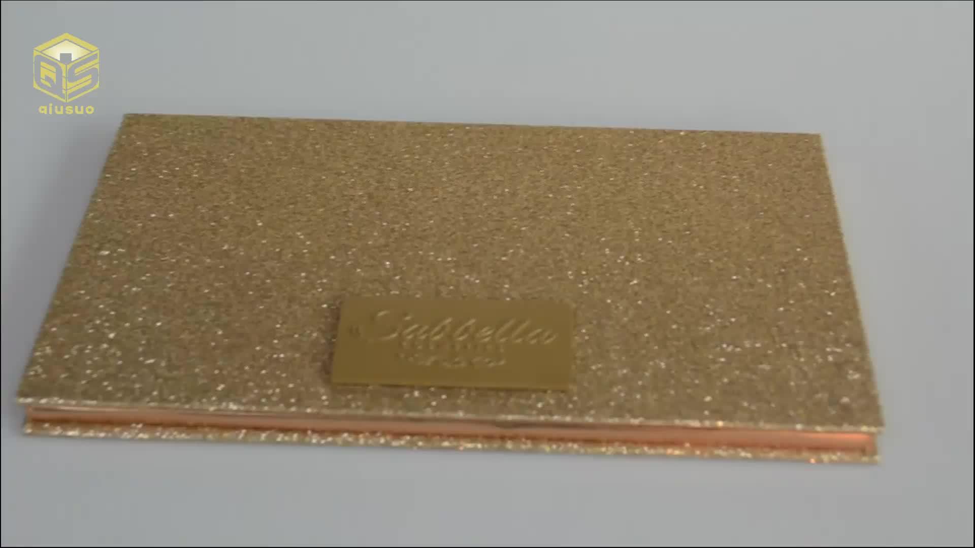 26 MM निजी लेबल OEM 18 रंग चुंबकीय गुलाब सोने आंखों के छायाएं पैलेट