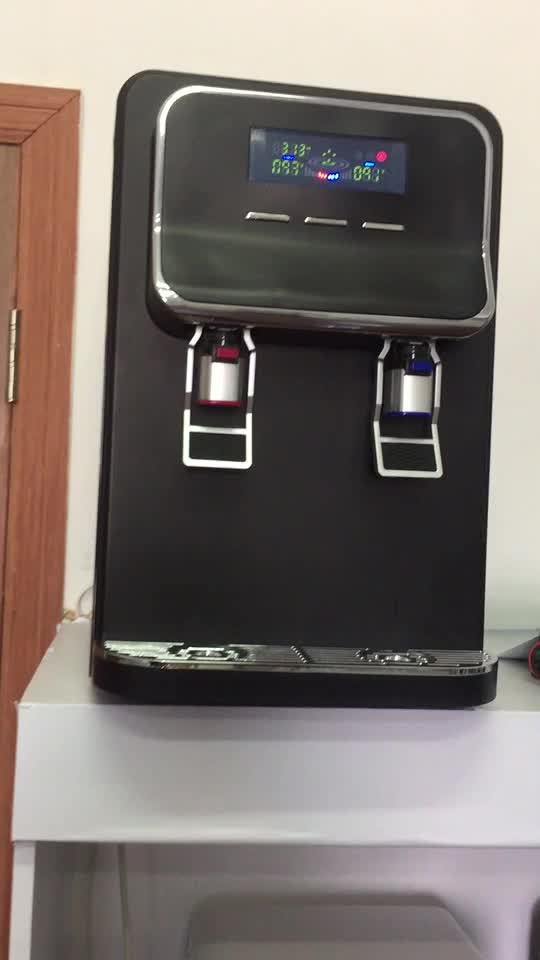 water dispenser with water filters/ water dispenser with RO system/ direct piping drinking water dispenser