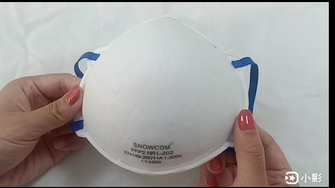 Professional FFP2 Disposable Cone Anti Dust Mask for Industrial Use