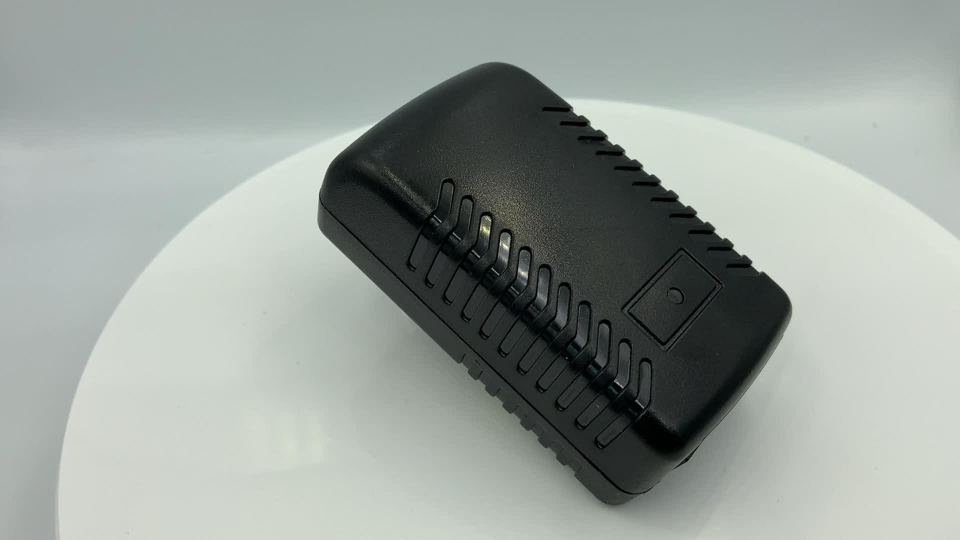 110v 240v 10/100Mbps Pasif POE enjektörü 24W