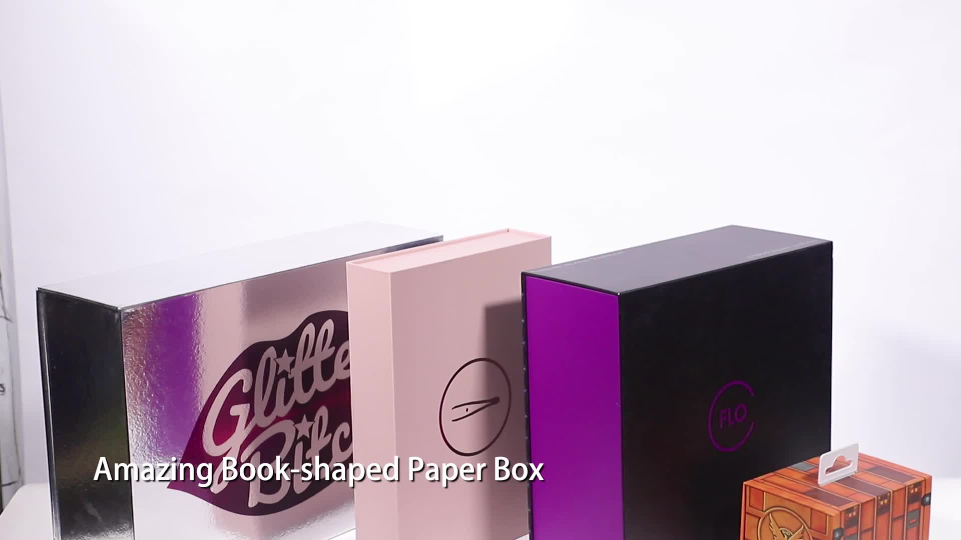 تغليف كريم تجميلي فاخر من الورق المقوى ترويجي من Alibaba ، صندوق هدايا مطبوع مستحضرات تجميل عالية الجودة
