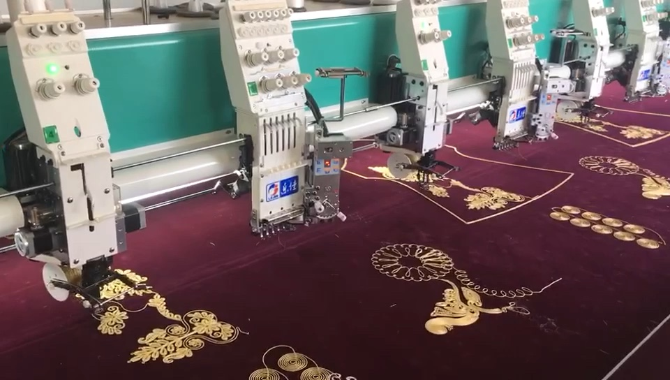 lejia coiling/ cording/ 혼합 컴퓨터 자수 기계
