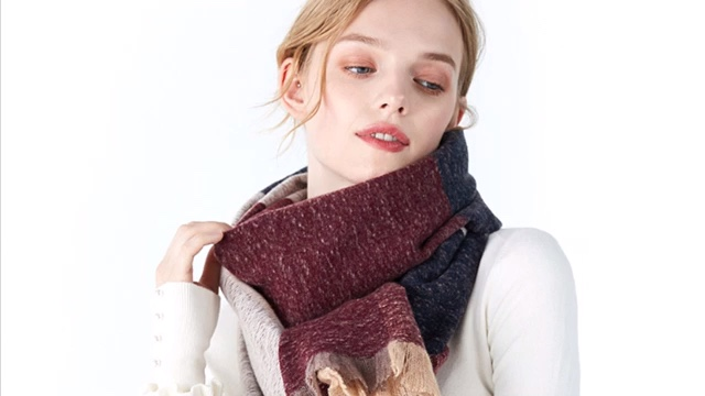 Hot Selling branded Fashion Winter Long Scarf Wholesaleders Pashmina Women Scarf Shawls