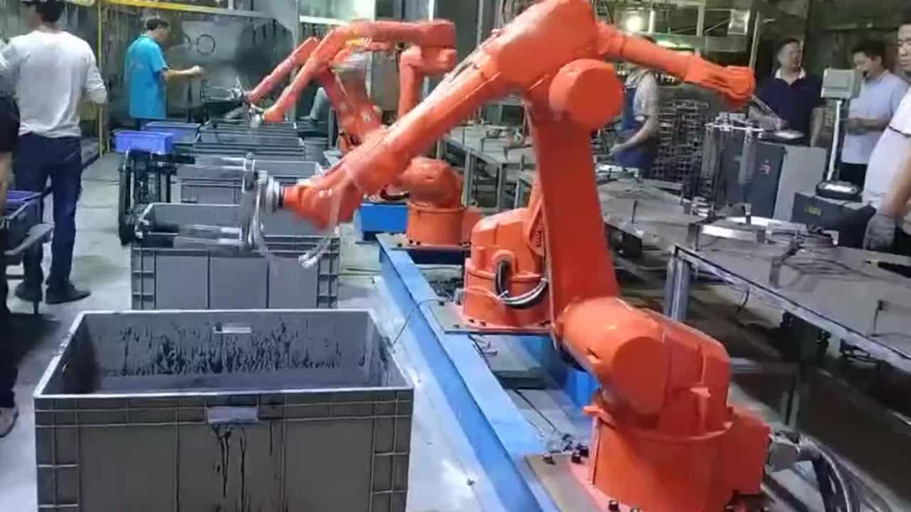 Shenzhen Renxin a spruzzo pittura spruzzatore spruzzo robotic robot arm
