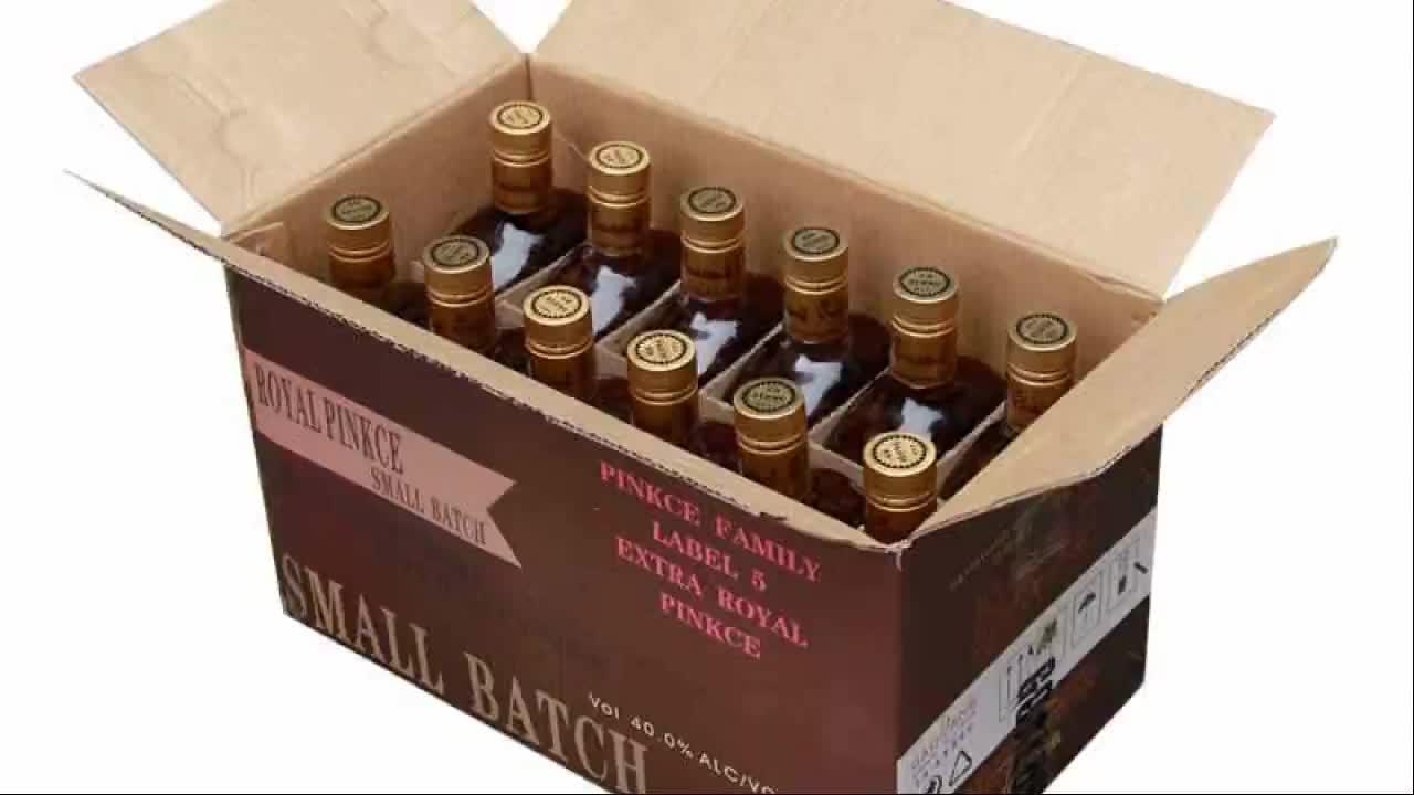700 ml sapore popolare whisky distillata mescolato wisky con il prezzo poco costoso in Cina