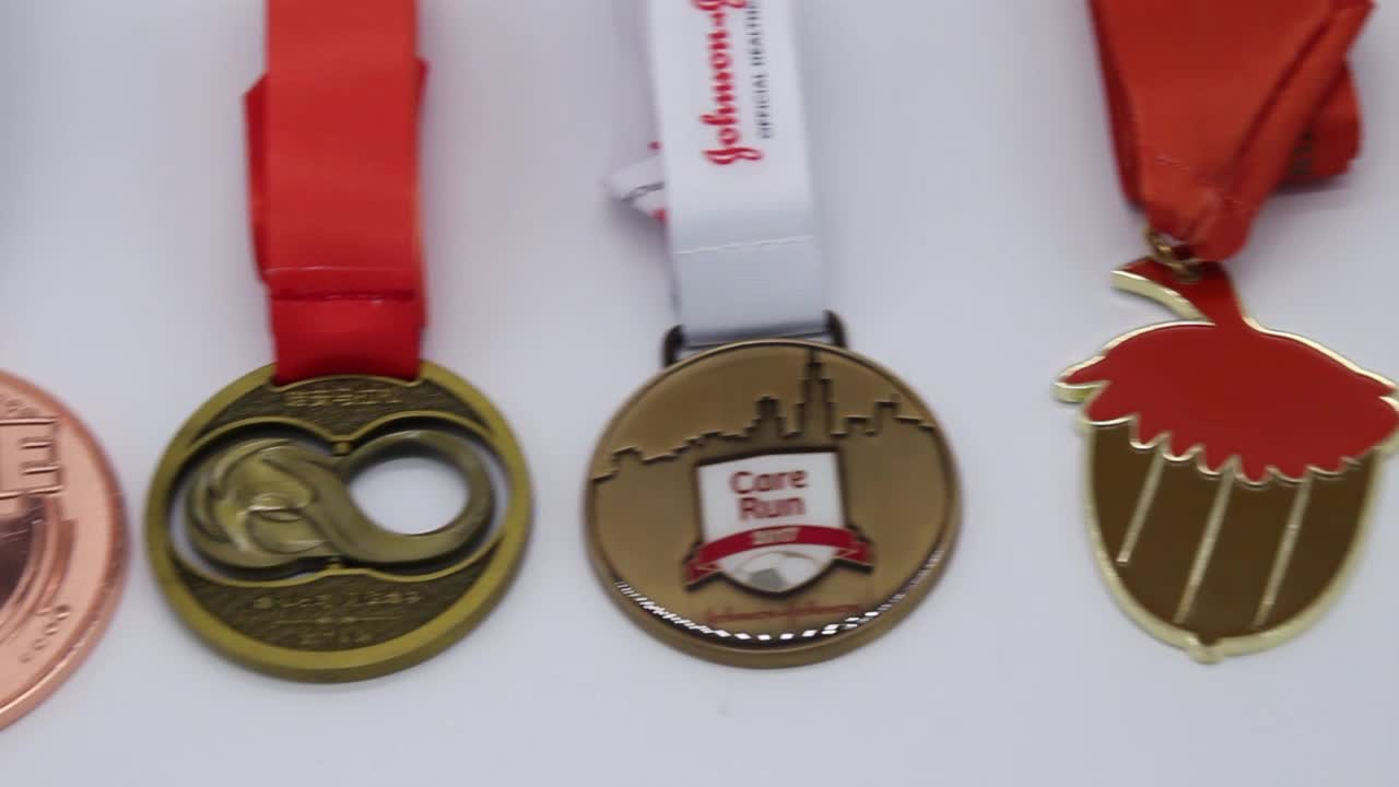Factory Wholesale Cheap Promotional Metal Blank Award Medal