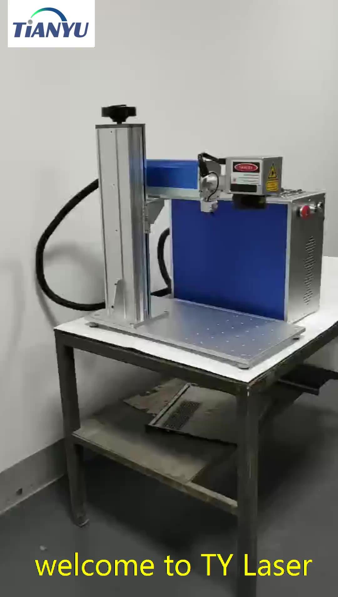 30w Raycus separato in fibra di marcatura laser macchina per incidere in vendita