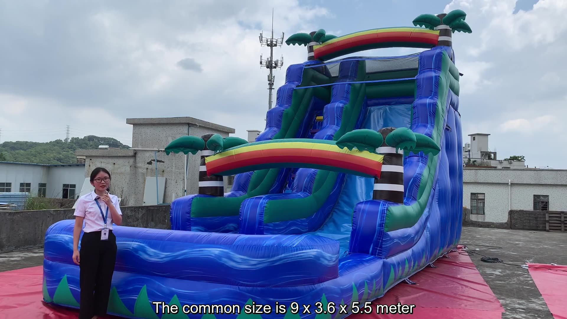 OEM Inflatables 장난감 거 대 한 워터 대 한 \ % sale 거 대 한 부 풀릴 수 물 slide