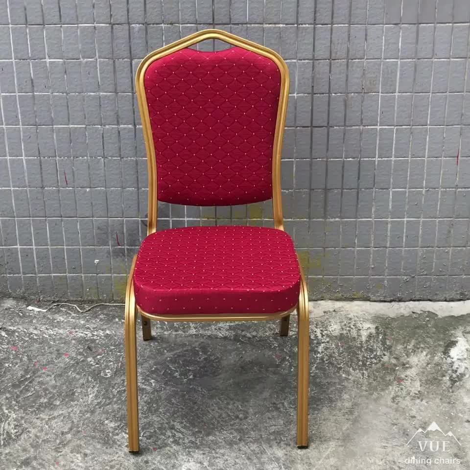 Commercio all'ingrosso Impilabile Hotel Banquet Chair