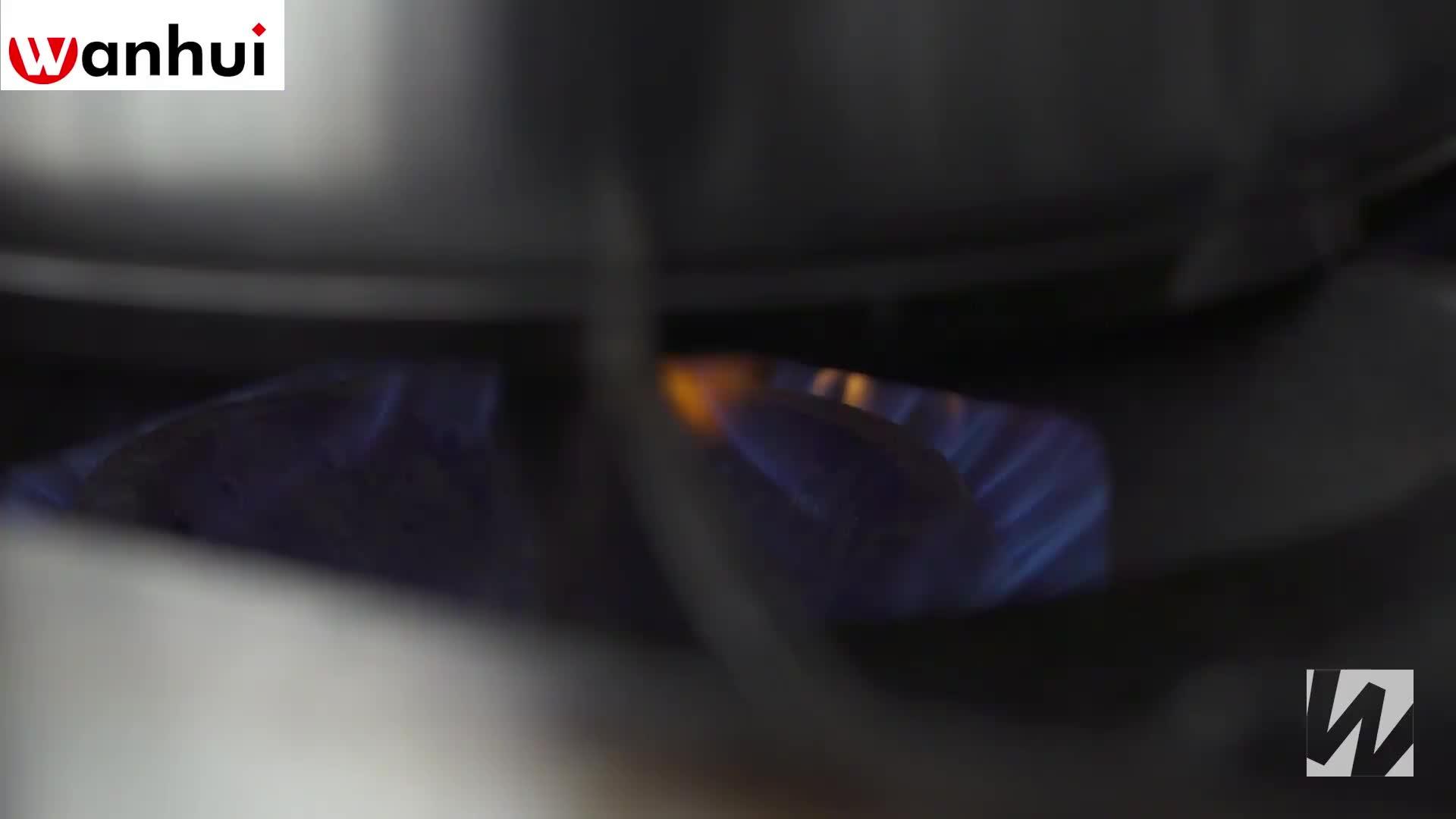 NSF liste büyük kapasiteli ağır hizmet paslanmaz çelik 100 litre pişirme tencere için restoran